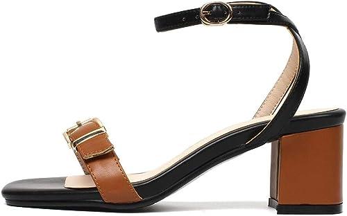 HommesGLTX Talon Aiguille Talons Hauts Sandales Sandales Sandales Grandes Tailles 32-44 New Elegant Bride à La Cheville Femmes Chaussures Femme Summer Party Sandales e26