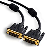 CSL - 2m DVI to DVI Monitor Cable - Dual Link 24 1...