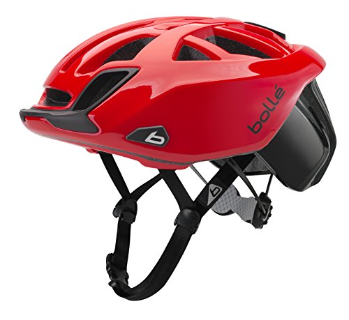 bollé The One Road Standard Fahrradhelm Rennen Unisex, Uni, The One Road Standard, rot, 58-62 cm