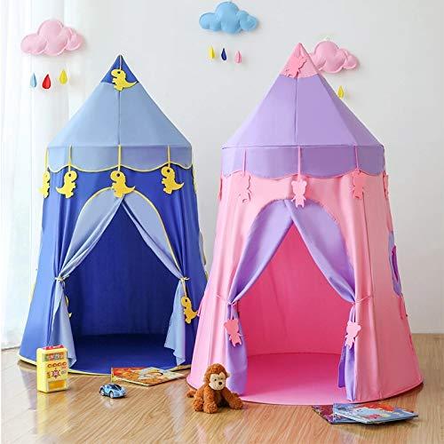 【DECTO】おしゃれキッズテント/おもちゃハウス ボールテント 室内遊具 折り畳み式 収納BAG付 (ピンク)