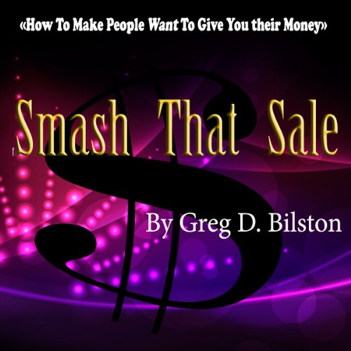 Smash That Sale audiobook cover art
