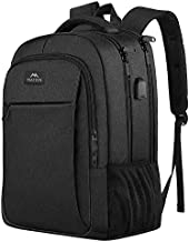 Business Travel Backpack, Matein Laptop Backpack with Usb Charging Port for Men Womens Boys Girls, Anti Theft Water Resistant College School Bookbag Computer Backpack Fits 15.6 Inch Laptop Notebook