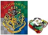 Harry Potter Premium coralina Referencia NI Mantas para Cama Colchas y cubrecamas Textiles del hogar Unisex Adulto, Multicolor (Multicolor), única