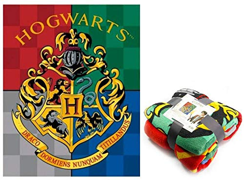 Harry Potter Premium Coralina Riferimento NI Coperta Per Letto Copriletto E Copriletti Tessili Per La Casa, Unisex, Per Adulti, Multicolore (Multicolore), Unica