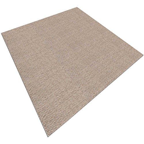 casa pura Design Bodenschutzmatte Verona | Unterlegmatte für Fitnessgeräte | zuverlässiger Bodenschutz | 60x120cm