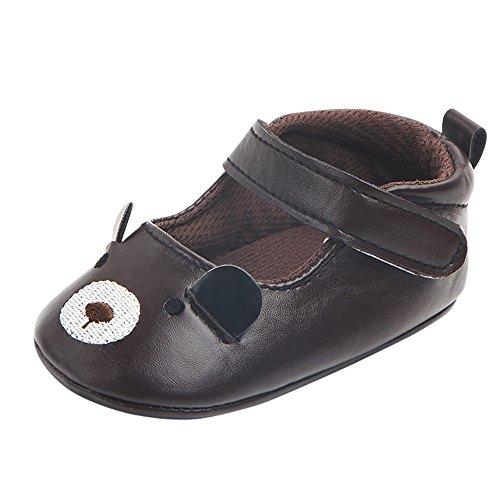 Baby Schuhe 0-18 Monate Junge Mädchen Unisex UFODB Kinder Leder Winter Weichesleder Maus Lauflernschuhe Soft Krabbelschuhe Babyschuhe Kleinkinder Kinderschuhe Lederschuhe