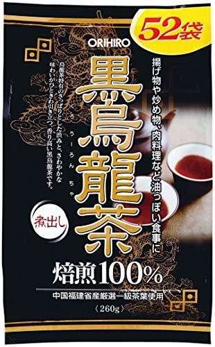 オリヒロ オリヒロ オリヒロ 黒烏龍茶 1セット(52包×2個) 健康茶