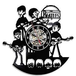 sunshine Grocery Cute Funny The Beatles Creative Vinyl Wall Clock Gift