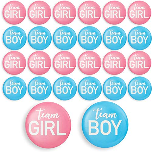 Pink and Blue Willbond 2 Pieces Daddy and Mommy to Be Tinplate Badge Pin Gender Reveal Button Pins New Daddy Mom Gifts for Baby Shower Party Celebration