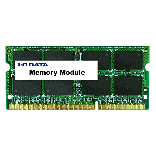 I-O DATA ノートパソコン用 メモリ DDR3L-1600 (PC3L-12800) 4GB×1枚 204Pin 5年保証 低消費電力 SDY1600L-H4G/EC