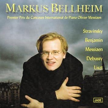 Stravinsky, Benjamin, Messiaen, Debussy, Liszt