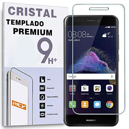 REY Protector de Pantalla para Huawei P9 Lite 2017, Cristal Vidrio Templado...