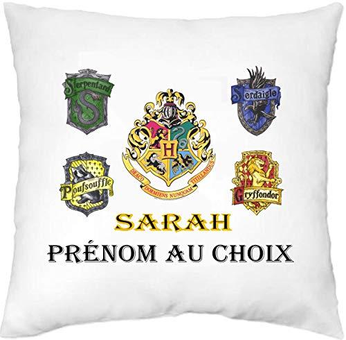 Générique Mille et Un KDO-Housse de Coussin personnalisée Harry Potter prénom au Choix