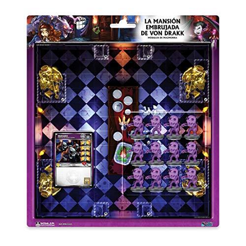 Edge Entertainment - La mansión embrujada de Von Drakk- Módulos de mazmorra:...