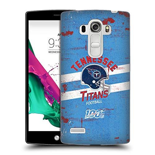 Head Case Designs Offizielle NFL Helm Verzweifelter Look 100ste 2019/20 Tennessee Titans Harte Rueckseiten Huelle kompatibel mit LG G4 Beat / G4s / G4 s / H735