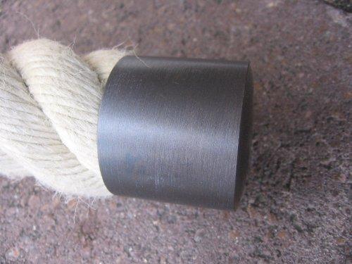 Seilendkappe bronziert für 40mm Handlaufseil