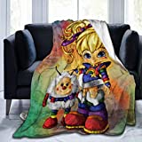 Zordalating Rainbow Brite Soft Warm Blanket Plush Bed Couch Living Room Fleece Blanket 50'X40'60'X50'80'X60'