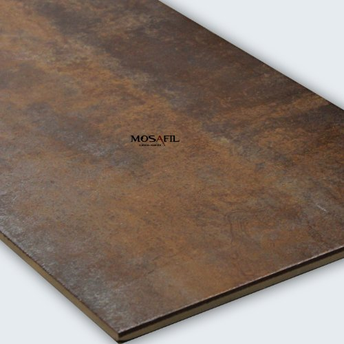 Metall Optik Feinsteinzeug Bodenfliese Metallic Gold 45x90cm