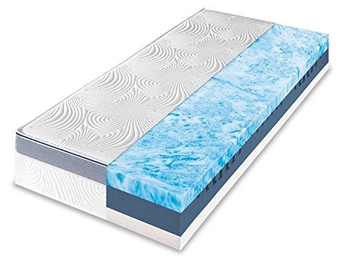 Dunlopillo Life 4500 7-Zonen Kaltschaummatratze, Größe:90 x 200 cm, Härtegrad:H3
