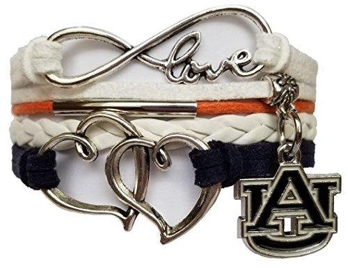 Winsome Faire Auburn University Bracelet Sports Fan