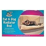 Invero Cat Puppy Dog Pet Radiateur lit chaud Lits Polaires panier Cradle Hamac pour animaux.