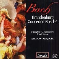 Brandenburg Concertos 1-4 by J.S. Bach