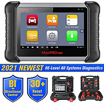 Autel MaxiPRO MP808K Automotive Diagnostic Scan Tool 2021 Newest Upgraded Ver of MP808 Same As MS906 Key Coding Bi-Directional All Systems Diagnostics Auto VIN Oil Reset,EPB SAS DPF BMS