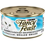 Fancy Feast Grilled Ocean Whitefish and Tuna Wet Cat Food, 85 g, 24 Pack