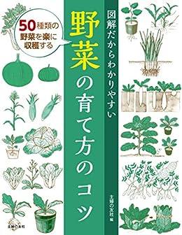 [主婦の友社]の図解だからわかりやすい野菜の育て方のコツ