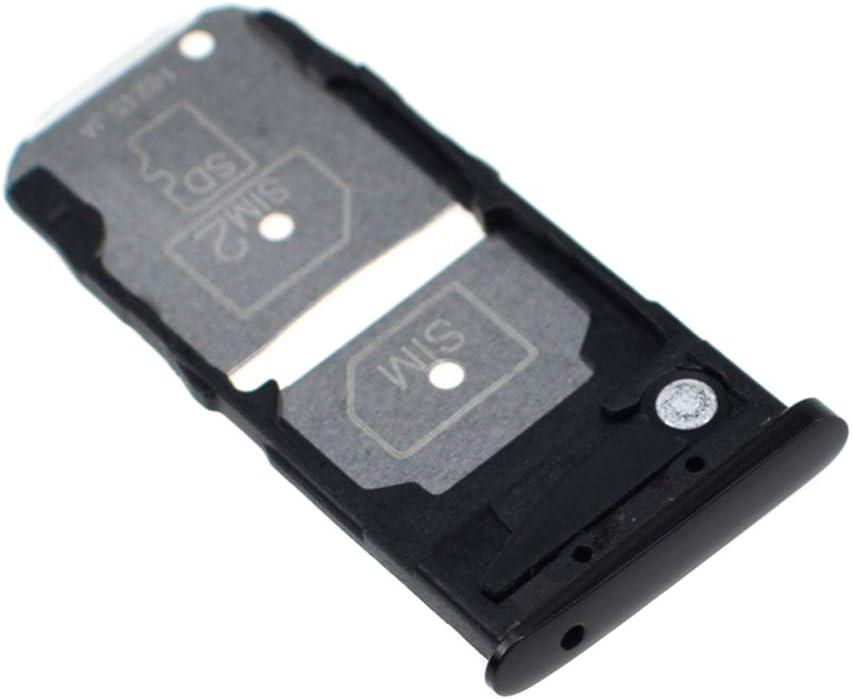 Micro SD Card Slot Compatible with Motorola Moto Z3 Play XT1929 Onyx Black Dual SIM Card Tray