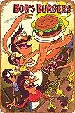Cimily Bobs Burgers Vintage Blechschild Metallschild Poster