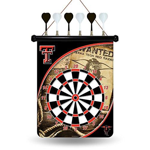 Rico Industries NCAA Texas Tech Red Raiders Magnetic Dartboard