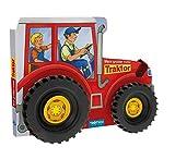 Trötsch Mein großer roter Traktor: Spielbuch Räderbuch Beschäftigungsbuch (Beschäftigungsbücher: Beschäftigung)