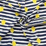 Jerseystoff Interlock Jersey 100% Baumwolle 160 cm Breit