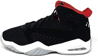 Jordan Nike Men's Lift Off Shoes, Black/White-University Red-Wolf Grey, 12