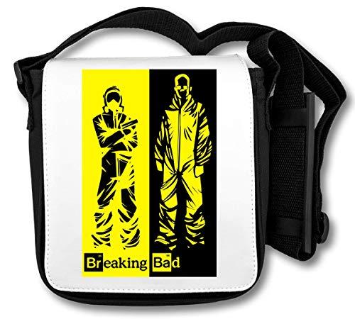 Breaking Bad Logo Black Yellow Heisenberg Pinkman Graphic Schultertasche