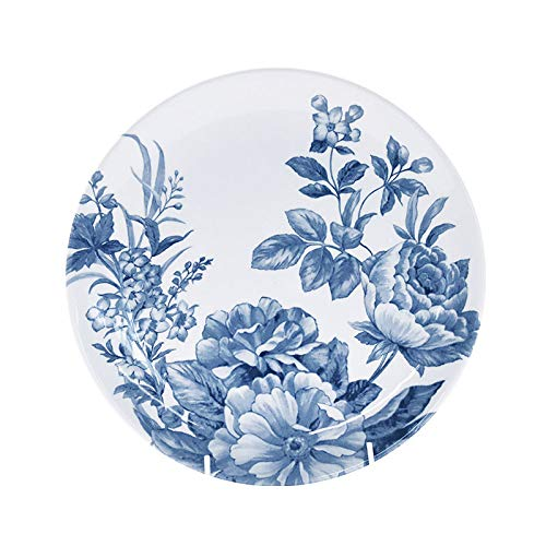Churchill China Spring Flourish - Plato de cena (26 cm), color azul y blanco