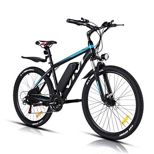 VIVI Bicicleta Eléctrica 26'' E-Bike, 350W Bicicleta Eléctrica de Montaña, Bici Electrica...