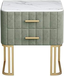 SILOLA Table de Chevet Moderne, Table de Chevet de Chambre à Coucher, casier de Chambre à Coucher de Table de Chevet, Armo...