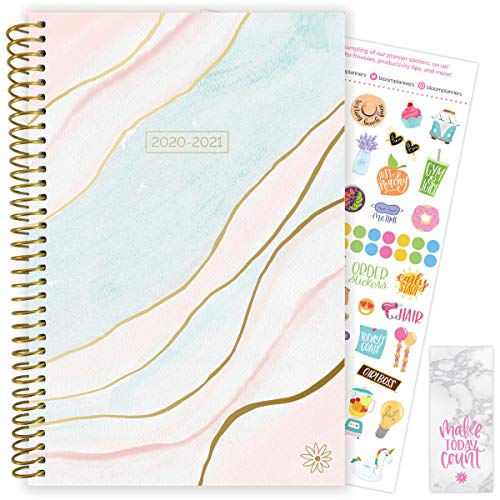 """bloom daily planners 2020-2021 Academic Year Day Planner & Calendar (July 2020 - July 2021) - 6"""" x..."""