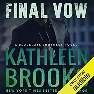Final Vow audiobook cover art