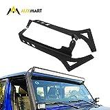 AUXMART 52' LED Light Bar Windshield Mounting Brackets for 2018~2021 Jeep Wrangler JL