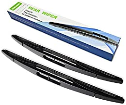 Rear Wiper Blade,ASLAM Rear Windshield Wiper Blades Type-E 16E for Chrysler Town & Country 2008-2010,Dodge Grand Caravan Exact Fit(Pack of 2)