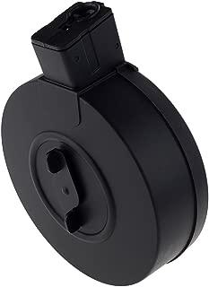SportPro 370 Round Polymer Drum Magazine for AEG Vz61 Airsoft – Black