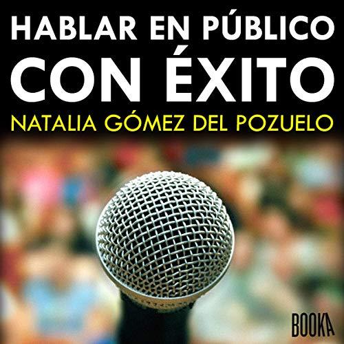 Diseño de la portada del título Hablar en Público con Exito