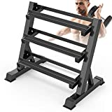 <span class='highlight'><span class='highlight'>Dripex</span></span> 3 Tier Heavy Duty Dumbbell Rack Home Gym Weight Rack Dumbbell Storage Stand Holder, Latest Model(Rack Only)