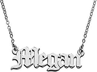 """Personalized Name Necklace Pendant with Any Customized Name 14""""to 22"""