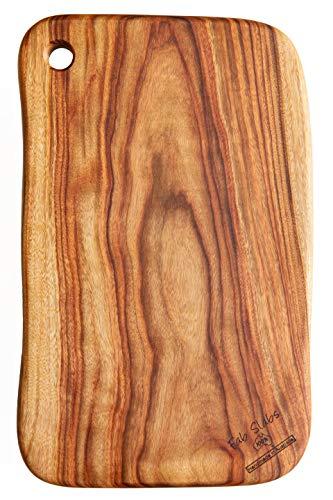 Fab Slabs Natural Wood Camphor Laurel Large Premium Anti-Bacterial Cutting Board