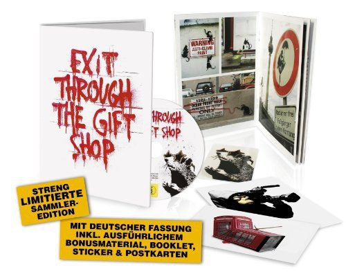 Banksy - Exit Through The Gift Shop (Limited Edition; inkl. deutscher Fassung) - Partnerlink