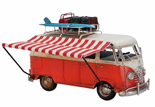Clayre & Eef 6Y1633 Modell Bus 27 * 10 * 17 cm Vintage Dekoration